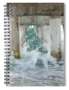 Under The Boardwalk Spiral Notebook