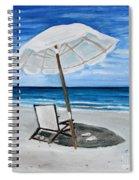 Under The Umbrella Spiral Notebook