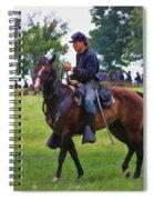 Union Cavalryman Spiral Notebook