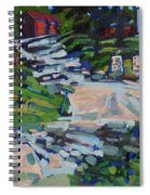 Uphill In Rockport Spiral Notebook
