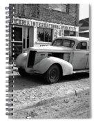 Upholstery Shop Dental Clinic 1930's Auto Us Mexico Border Naco Sonora Mexico 1980 Spiral Notebook