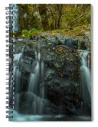 Upper Boulder Creek Falls Spiral Notebook