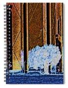 Urban Landscape Spiral Notebook