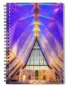 Us Air Force Academy Chapel Spiral Notebook