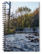 Valley Creek Waterfall - Valley Forge Pa Spiral Notebook