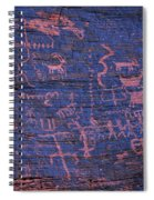 Valley Of Fire Petroglyphs Spiral Notebook