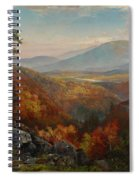 Valley Of The Catawissa In Autumn Spiral Notebook