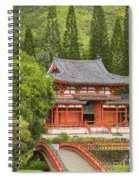 Valley Of The Temples Spiral Notebook