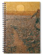 Van Gogh: Sower, 1888 Spiral Notebook