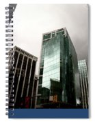 Vancouver Skyline Canada Spiral Notebook