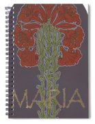 Variation On Our Lady Of Sorrows 236 Spiral Notebook