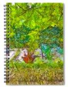 Vegetable Garden Spiral Notebook