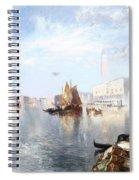 Venetian Grand Canal Spiral Notebook