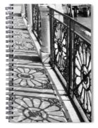 Venice Fence Shadows Spiral Notebook