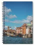 Venice Panorama Spiral Notebook