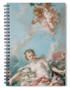 Venus On The Waves Spiral Notebook