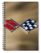 Vette Flags Spiral Notebook