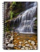 Veu Da Noiva Waterfall Spiral Notebook