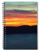 Vibrant Skies  Spiral Notebook
