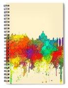 Victoria B.c. Skyline Spiral Notebook