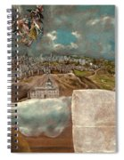 View And Plan Of Toledo Spiral Notebook