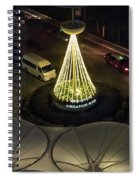 View From Flyer Spiral Notebook