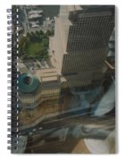 View From The W T C Spiral Notebook