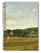 View Of Chatenay Spiral Notebook
