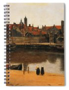 View Of Delft Spiral Notebook