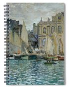 View Of Le Havre Spiral Notebook