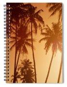 View Of Tahiti Spiral Notebook