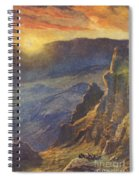 Vintage Hawaiian Art Spiral Notebook