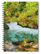 Vintgar Gorge Spiral Notebook