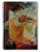 Violinist 67 Spiral Notebook