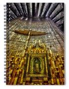 Virgen De Guadalupe 7 Spiral Notebook