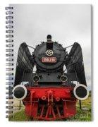 Viseu De Sus Steam Engine Spiral Notebook