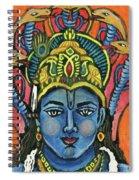 Vishnu Spiral Notebook
