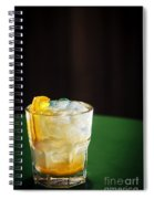 Vodka And Orange Screwdriver Classic Cocktail Drink Spiral Notebook
