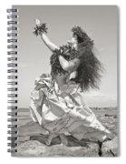 Wahine Hula Spiral Notebook