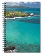 Waimanalo Coast Spiral Notebook