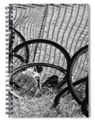 Waiting For A Ride Spiral Notebook