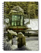 Waiting Out The Snow Spiral Notebook
