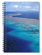 Wakaya Island Aerial Spiral Notebook