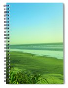 Walking The Beach Spiral Notebook