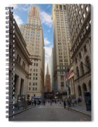 Wall Street Spiral Notebook