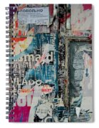 Walls - Favorably Spiral Notebook