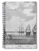 War Of 1812: Sea Battle Spiral Notebook