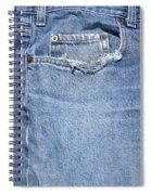 Worn Jeans Spiral Notebook