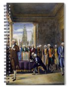 Washington: Inauguration Spiral Notebook