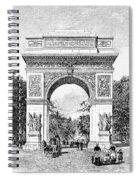 Washington Square Arch Spiral Notebook